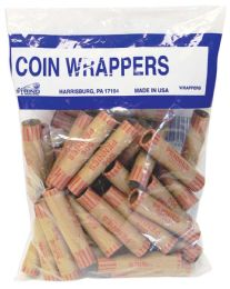 50 Bulk Coin Wrappers 36 Count Penny