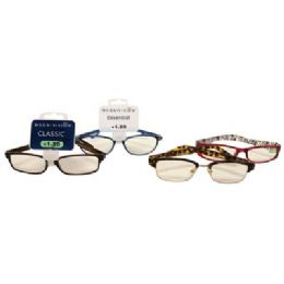 100 Bulk Foster Grant Reading Glasses Assorted Styles And Powers +1.00 To 1.50