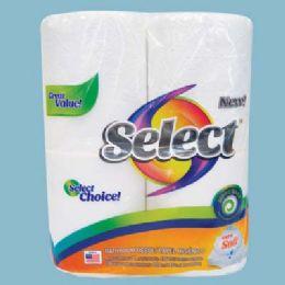 24 Bulk Select Bath Tissue 4 Pack 135-2 Ply Sheets