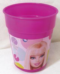 36 Bulk Barbie Cup 14 Ounces Plastic