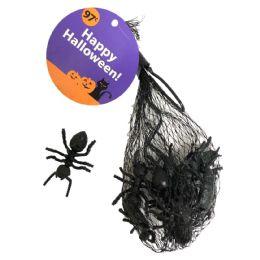 48 Bulk Halloween Plastic Insects 12 P