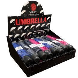 24 Bulk Simply Fashionable Manual Umbrella