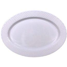 48 Bulk Crown Dinnerware Melamine Oval