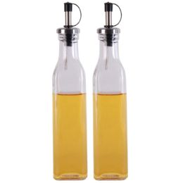 24 Bulk Simply Kitchenware Glass Oil And