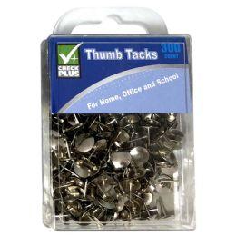 36 Bulk Check Plus Thumb Tacks 300 ct