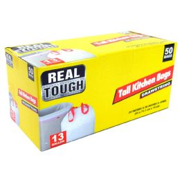 12 Bulk Real Tough Tall Kitchen Bag 13