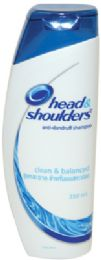 12 Bulk Head And Shoulders Classic Clean Shampoo 350ml