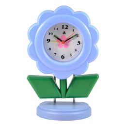 5 Bulk Desk Clock Standing Flower Sty