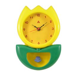 6 Bulk Hanging Clock Flower Style in