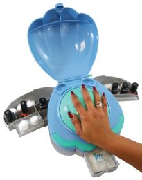 6 Bulk Hand Shell Home Manicure With 3 Compartments As Seen On tv