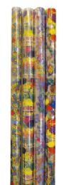 72 Bulk Cello Gift Wrap 12.5 Sq Ft Astd Designs/colors