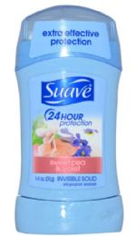 12 Bulk Suave Solid Sweet Pea And Violet 1.4 Oz 24 Hour Protection