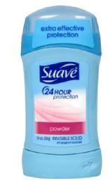 12 Bulk Suave Solid Powder 1.4 Oz 24 Hour Protection