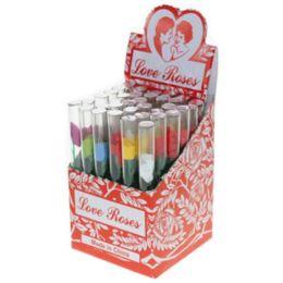 Bulk Glass Min Rose Box 48 Pcs