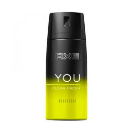 6 Bulk Axe Spray 150 Ml Clean Fresh You 6/pk