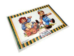 72 Bulk Placemat Raggedy Ann And Andy Size 12 X 17 (plastic Material)