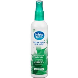 12 Bulk White Rain Pump 7 Oz Hair Spray Extra Hold Unscented