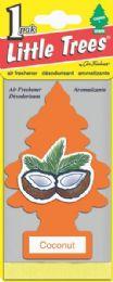 24 Bulk Little Tree Coconut Car Freshener 1's