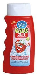 6 Bulk White Rain Kids 3 In 1 Shampoo/conditioner/bodywash Strawberry Splash 12 oz