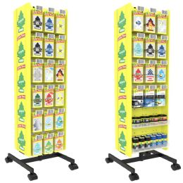 Bulk Little Tree 302 Pcs Floor Display Spinner Rack