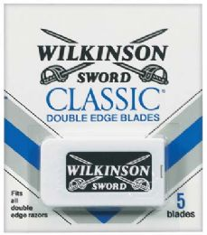 60 Bulk Wilkinson Sword Double Edge Blades 5 ct