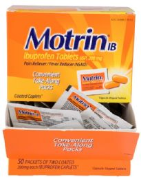 Bulk Motrin Tabletbox Count 50