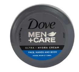 48 Bulk Dove Men Care 75 Ml Cream Hydrate Moisturiser 2.5 oz