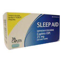 24 Bulk Sleep Aid 25mg 36caplets