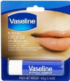 24 Bulk Vaseline Lip Therapy 0.16 Oz Original