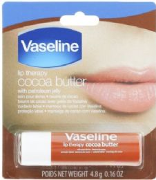 24 Bulk Vaseline Lip Therapy 0.16 Oz Coco Butter