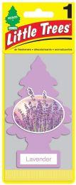 24 Bulk Little Tree Lavender Car Freshener 1's