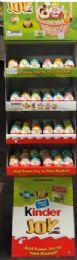 120 Bulk Kinder Joy Easter Floor Display