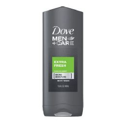 12 Bulk Dove Bodywash 400 Ml Extra Fresh Men