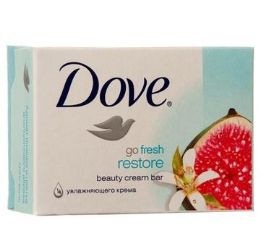 48 Bulk Dove Bar Soap 135g Go Fresh Restore