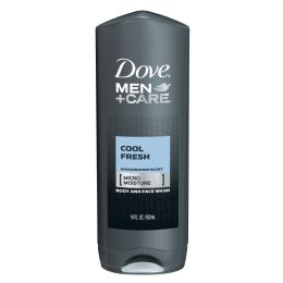 12 Bulk Dove Bodywash 400 Ml Active Fresh Men