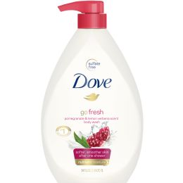 12 Bulk Jandj Body Wash 750 Ml Pomegranate