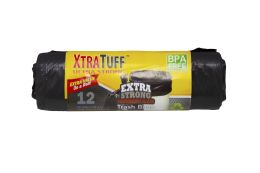 48 Bulk Xtratuff Trash Bag 26gal 12 Ct Rolls