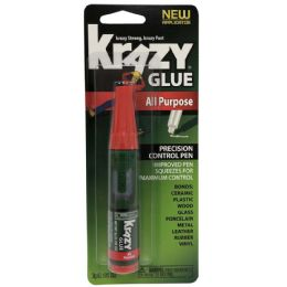 48 Bulk Krazy Glue All Purpose Precision Control Pen 0.105 oz
