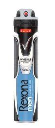 6 Bulk RexonA-Half Deodorant Spray 200 Ml Men Invisible Ice
