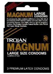 12 Bulk Trojan 3's Magnum Black (large)