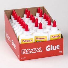 24 Bulk Playskool School Glue 4oz