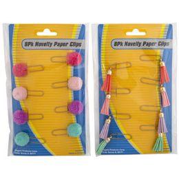 36 Bulk Pom Pom Or Tassel Paper Clips