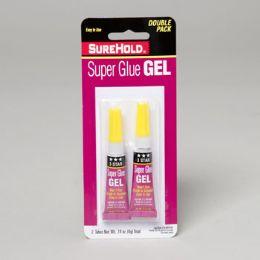 72 Bulk Super Glue Gel 2pk .14oz