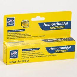 24 Bulk Lucky Hemorrhoidal Ointment 1.5oz Boxed
