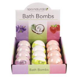 48 Bulk Bath Bombs 5oz 4-12pc Displays