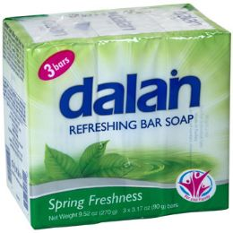 24 Bulk Soap 3 Pack Bars Spring
