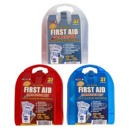 33 Bulk First Aid Kit 37 Pcs In Plastic Case