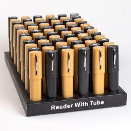 288 Bulk Readers In Plastic Tube Counter Display