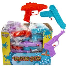 24 Bulk Water Gun 3ast 6in Pb/lab In 24pc Pdq