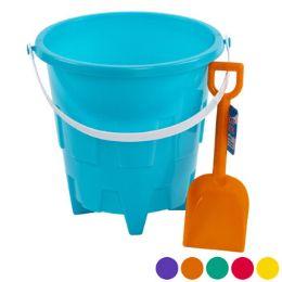 24 Bulk Sand Bucket Plastic 8in W/shovel